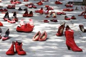 femminicidio scarpe